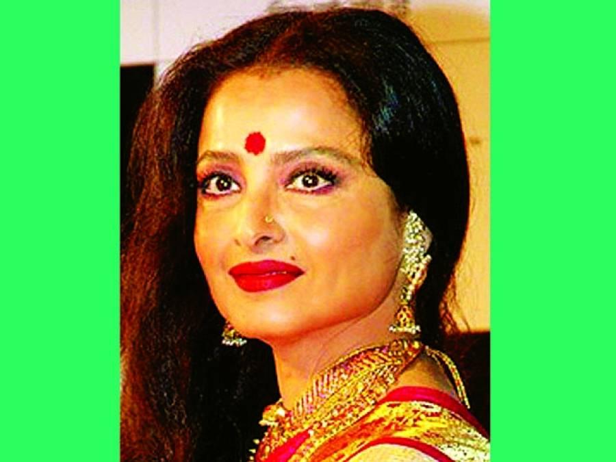 سدا بہار اداکارہ ریکھا 63 برس کی ہو گئیں