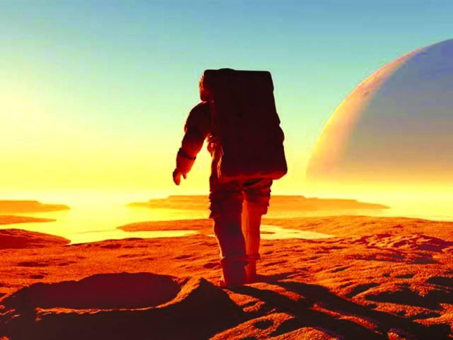 مریخ تک سفر کیلئے خلانوردوں کے ڈی این اے تبدیل کرنے پر غور