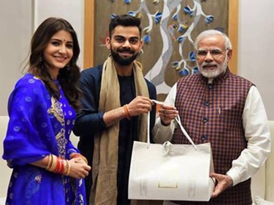 کوہلی اور انوشکا شادی کی استقبالیہ آج دہلی میں دینگے