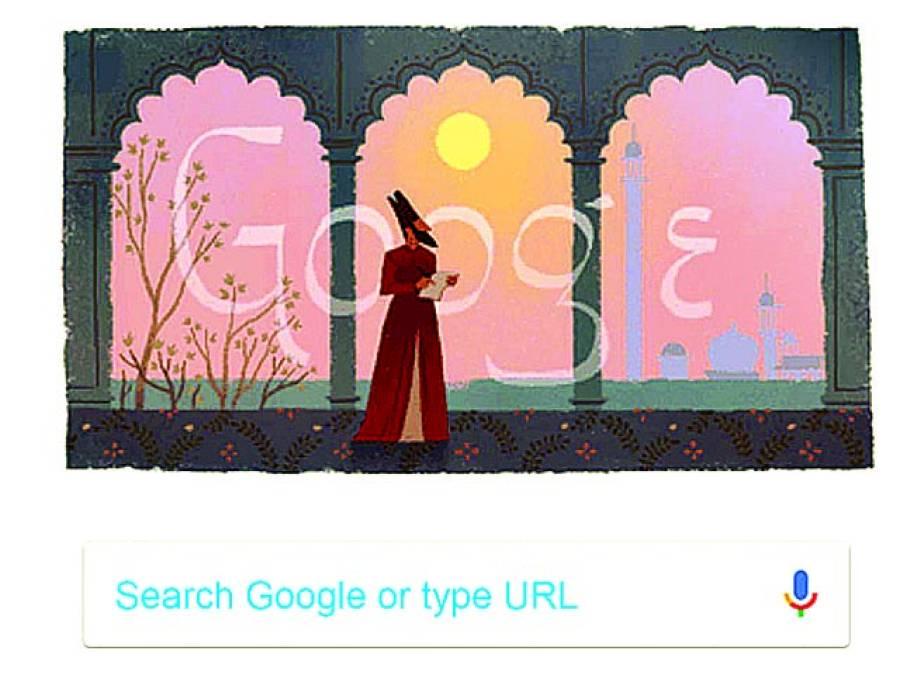 گوگل کا مرزاغالب کی 220ویں سالگرہ پر ڈوڈل لگاکرزبردست خراج تحسین