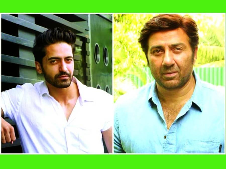کرن ویر شرما اداکار سنی دیول کے ساتھ ایکشن تھرلر فلم میں نظر آئیں گے