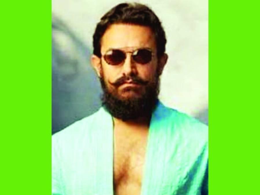 ''ٹھگز آف ہندوستان'' میں عامر خان کی حلئے کی تصویر لیک