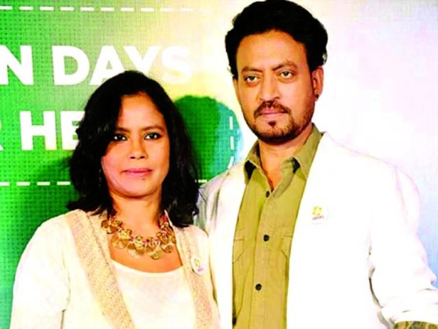 عرفان خان کی بیوی شوہر سے متعلق افواہوں پر پھٹ پڑیں