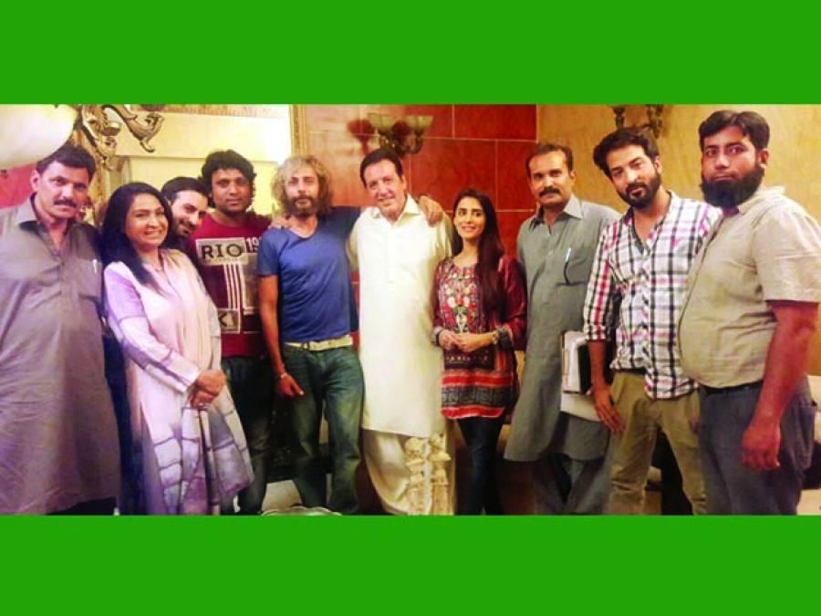 سلیم شیخ پروڈکشن کی ڈرامہ سیریز''جگنو'' کے نئے کھیل کی ریکارڈنگ