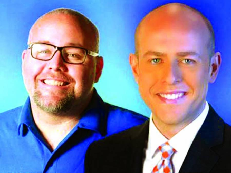 طوفان کی خبریں دینے والے دو امریکی صحافی خود