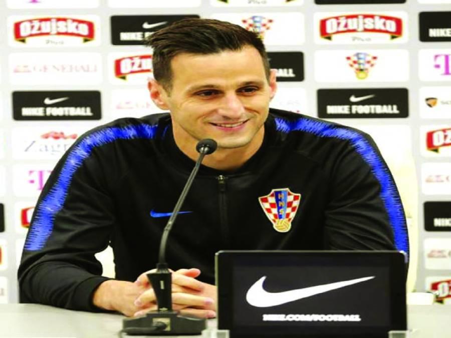 کروشین فٹبالر نکولا کالینک کا سلور میڈل لینے سے انکار