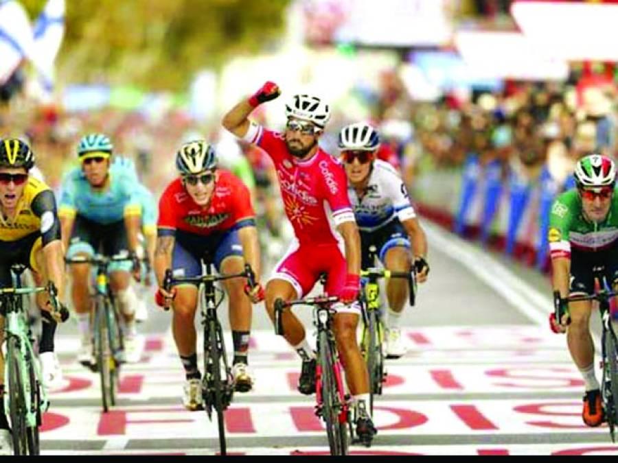 وولٹا سائیکل ریس کا چھٹا مرحلہ فرانس کے ناسر بوہانی کے نام