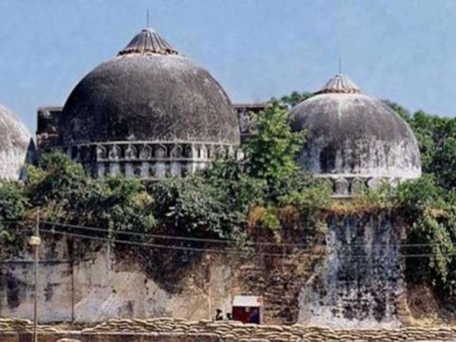 بابری مسجد کی جگہ رام مندر کی تعمیر؟