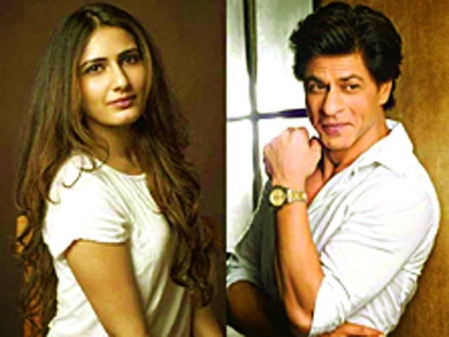 فاطمہ ثنا شیخ شاہ رخ خان کے ساتھ جلوے دکھانے کو تیار