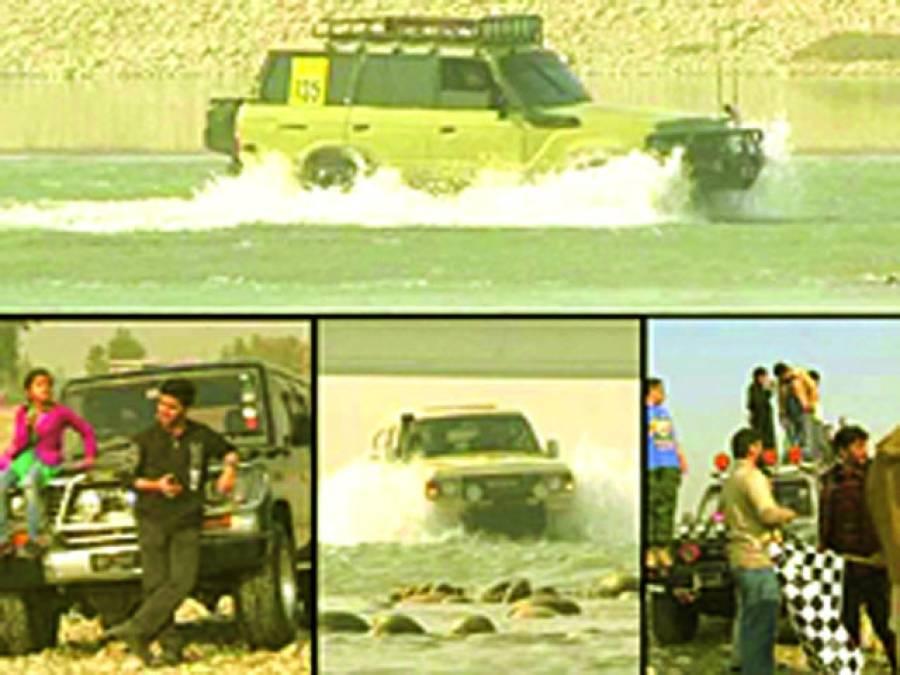 8 ویں واٹر کراس جیپ ریلی کل دریائے سندھ پر منعقد ہوگی