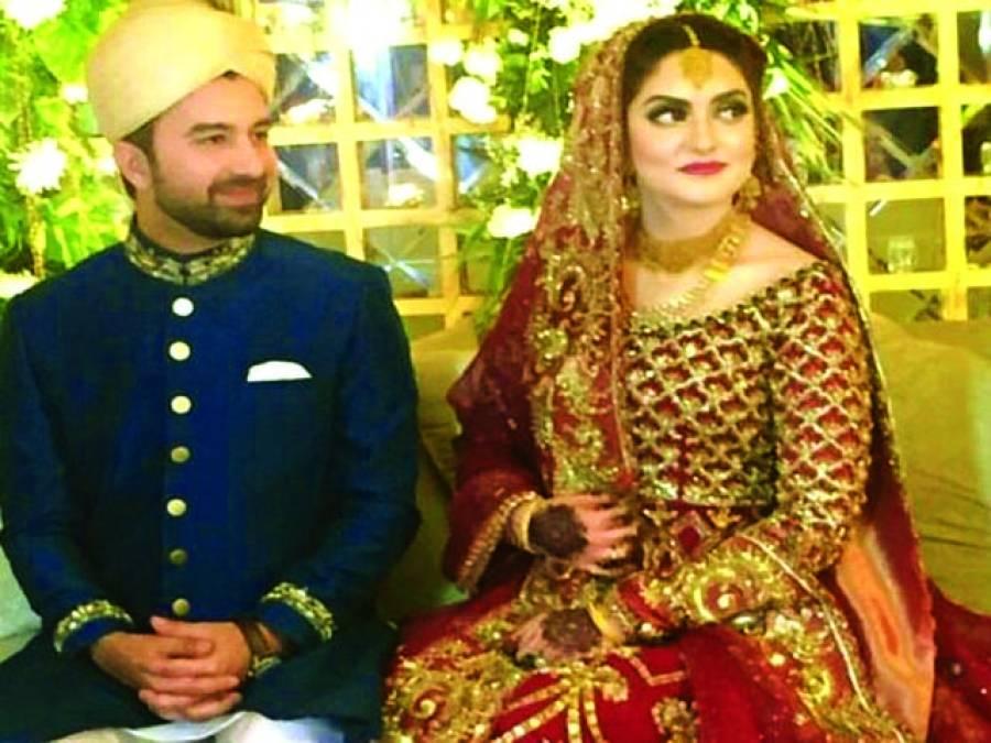 فواد خان کی ہمشیرہ ثناخان کی شادی لاہور میں انجام پاگئی