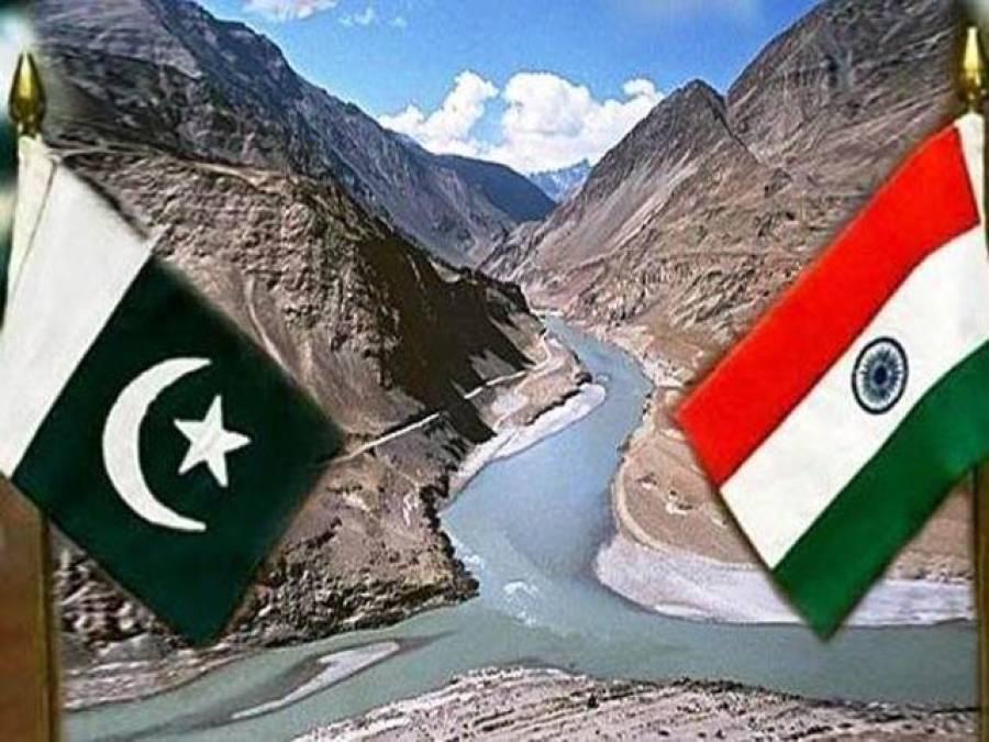 بھارت کی پانی چوری