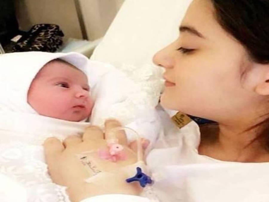 ایمن خان اور منیب بٹ کی بیٹی کی تصویر سوشل میڈیا پر وائرل