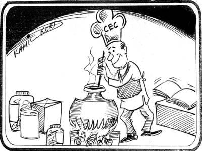 الیکشن کمیشن نے شفاف انتخابات کے لئے ضابطہ اخلاق کی تےاری شروع کردی........(خبر)