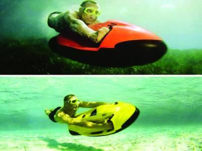 سطح سمندر سے سو فٹ نیچے دس میل فی گھنٹہ کی رفتار سے سفر کرنیوالی بوٹ ایجاد