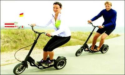سائیکل ،اسکوٹی یا پھر ایکسر سائز مشین۔۔۔۔کیا ہے یہ؟