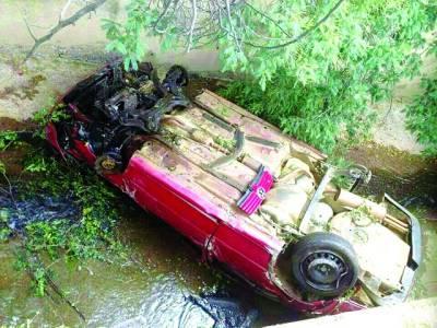 پریٹوریا لوڈیم' کا ر حادثہ' منڈی بہاﺅالدین کا بلال احمد اپنی زندگی ہا ر گیا