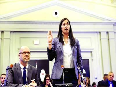 ٹرینٹون: خاتون قانون دان جارج واشنگٹن برج لین سکینڈل کی تحقیقات کرنے کیلئے حلف لے رہی ہیں