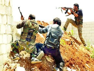 دمشق: باغی فوجی سرکاری فوج پر حملہ کر رہے ہیں