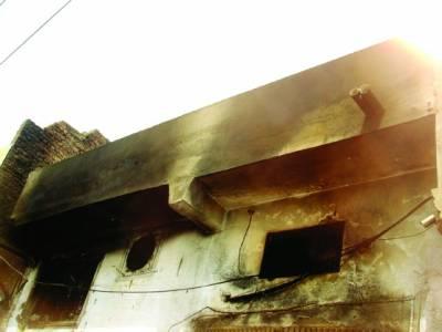 شفیق آباد جوتوں کی فیکٹری میں آتشزدگی کروڑوں کا مال اور کیمیکل جل گیا