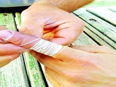 انگلی میں پھنسی انگوٹھی سے نجات پانے کا آسان طریقہ