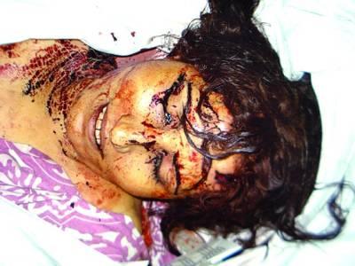 شمالی چھاؤنی شوہر نے غیرت کے نام پر تیز دھار آلےسے وار کرکے بیوی کو قتل کر دیا ملزم فرار