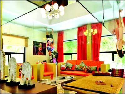 تھائی لینڈ میں الٹا گھر فن تعمیرات کا انوکھا شاہکار