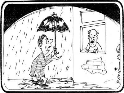 جناب! ان حالیہ بارشوں کی وجہ سے اسلام آباد کا سیاسی درجہ حرارت بھی کم ہوا کیا؟