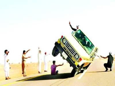 سعودی نوجوانوں کی خرمستیاں ،ٹریفک کے مسائل،انتظامیہ پریشان