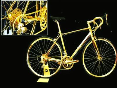 سونے سے بنی سائیکل جس کی قیمت سن کر آپ کے ہوش اڑ جائیں گے