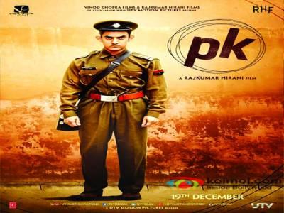 """عامر خان کی """"پی کے""""نے بھارت میں 83 1کروڑ کمالئے"""