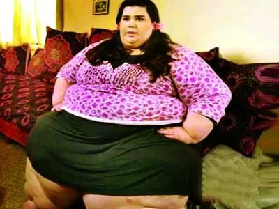 نیویارک،270 کلو وزنی خاتون کی دکھ بھر ی داستان