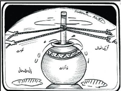 حکومت اور تحریک انصاف کے درمیان جوڈیشل کمیشن کے قیام پر مذاکرات کا ایک اور دوربے نتیجہ رہا