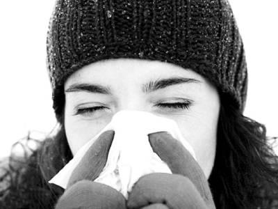 سردی سے بچنے کے لئے ناک کو ڈھانپنا انتہائی ضروری