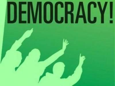 جمہوریت کا حسن ایک دن میں بحال ہو سکتا ہے!