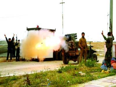 بغداد: لبانی فوجی جنگی مشق کر رہے ہیں