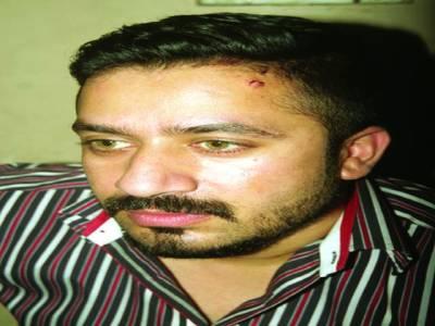 کیبل آپر یٹرز کا شہر ی کے گھر میں گھس کر تشد د،خواتین سے بد تمیز ی