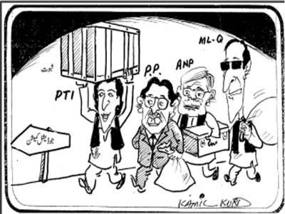 پی ٹی آئی کے بعد پی پی پی ، اے این پی اور مسلم لیگ (ق)نے بھی جوڈیشل کمیشن میں دھاندلیوں کے ثبوت پیش کرنے کا فیصلہ کرلیا