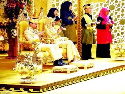 برونائی دارالسلام کے حکمران کے سب سے چھوٹے شہزادے کی شادی نے دھوم مچا دی
