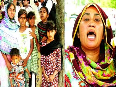زمیندار کے ہاتھوں 5 بچوں کے باپ کا قتل، ملزمان کی عدم گرفتاری پر ورثا سی سی پی او آفس پہنچ گئے