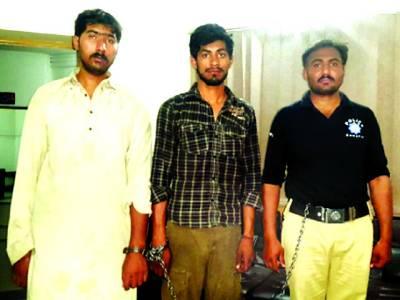 متعدد وارداتوں میں ملوث خرم موٹر سائیکل چور گینگ کا سر غنہ ساتھی سمیت گرفتار
