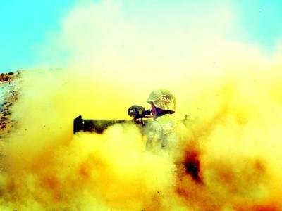 بیجنگ: چینی فوجی جنگی مشق کر رہا ہے