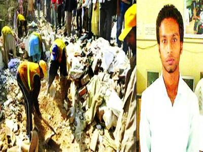ستوکتلہ، زیر تعمیر مارکیٹ کی چھت گرنے سے چار افراد زخمی ہوگئے