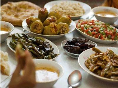 رمضان کے لئے متوازن خوراک