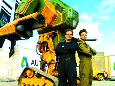 تاریخ میں پہلی مرتبہ جاپانی اور امریکی روبوٹ کے درمیان کشتی کا مقابلہ