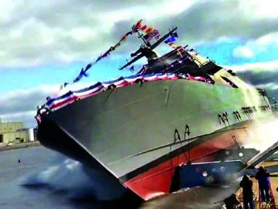 کیا آپ کو معلوم ہے بحری جہازوں کو پہلی مرتبہ پانی میں کیسے اتارا جاتا ہے؟