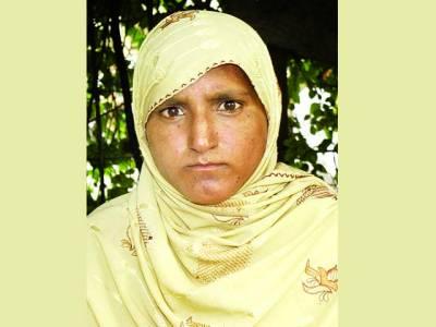زمیندار کی بداخلاقی کا شکارخاتون انصاف کے لئے دفتر پاکستان پہنچ گئی