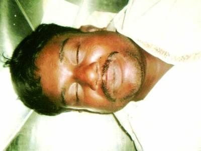 فیکٹری ایریا،ناجائز اسلحہ رکھنے پر زیر حراست ملزم پولیس تشدد سے ہلاک