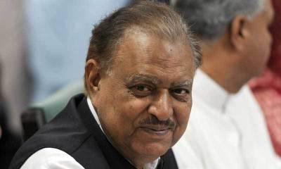 بلوچستان میں جاری ترقیاتی کاموں میں کوئی رکاوٹ برداشت نہیں کی جائیگی:صدر ممنون حسین
