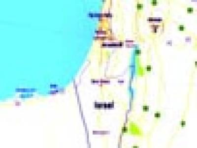 غلطی یا کارستانی، گوگل نے فلسطین کو دنیا کے نقشے سے نکال دیا